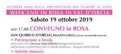 WEEK END IN ROSA in VAL D'ORCIA. 19  e  20 OTTOBRE